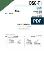DSC-T1 Level 2 Sup 1