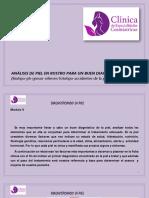 ANÁLISIS de PIEL en ROSTRO PARA UN BUEN DIAGNÓSTICO (Biotipo-ph-grosor-relieves-fototipo-Accidentes de La Piel)
