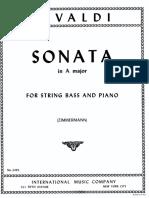 Sonata in La Magg