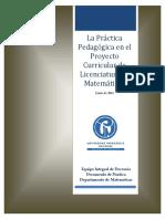 2014-Junio La Practica Pedagogica - Documento de Trabajo.docx