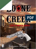 G.M Boone Creek (Ley y Orden Libro 1)