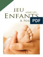 Dieu aime les enfants à naître