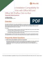 ProjectVisio0365 MSI C2R FAQ - Customer