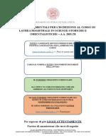 Avviso Immatricolazione Scienze Storiche a.a. 2019_20