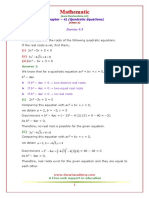 10 Maths NcertSolutions Chapter 4 41