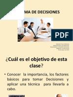Toma de Decisiones (1)