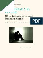 La Sociedad y El Suicidio