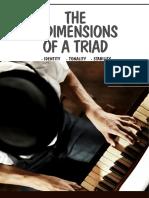 3 Dimensions of a Triad