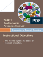 TM4112 - 2 Introduction to Reservoir Simulation