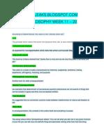 [Amaleaks.blogspot.com] Philosophy Week 11-20 Grade 11