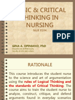 1st_Logic and Critical Thinking