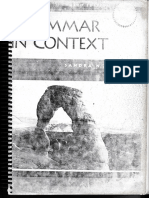 Grammar in Context, book 1