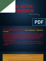 El acto jurídico, clasificación y elementos.pptm.pdf
