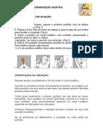 Instruções de Colocação Protetor Pca