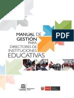 UNESCO Manual de Directivos Gest. Perú
