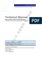 McWiLL Optical Fiber Remote BS System Technical Manual V1.00£¨¼ÓË®Ó¡£©