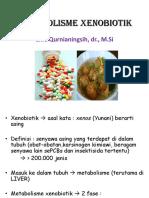METABOLISME SENABIOTIK