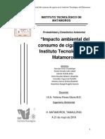 Impacto Ambiental Del Consumo de Cigarrillo Del Instituto Tecnológico de Matamoros