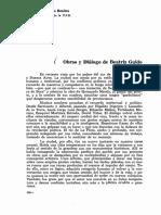 Obras y diálogo de Beatriz Guido Por Otto Morales Benítez