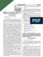 Prorroga de Estado de Emergencia Declarado en Las Provincias Decreto Supremo n 041 2016 Pcm 1396172 1