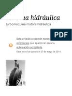 Turbina Hidráulica - Wikipedia, La Enciclopedia Libre