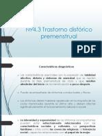 13. Trastorno Disfórico Premenstrual