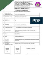 Form Pendaftaran w. Akt Keu Lembaga 2019