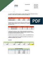 Ejercicio Presupuesto ( pronostico)