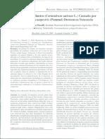 Volumen de Revista Mexicana de FITOPATOLOGÍA