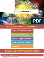Issues in cryptocurrency