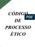 Código de Processo Ético - Radiologia