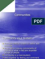 Communities (1)