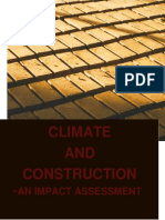 CLIMATE AND CONSTRUCTION