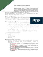 Balotario Estructura y Procesos de Organización