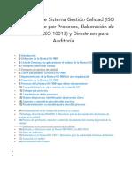 Curso gratis de Sistema Gestión Calidad (ISO 9001), Enfoque por Procesos, Elaboración de Manuales (ISO 10013) y Directrices para Auditoría.docx