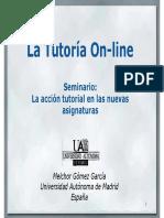 La Tutoria on-line