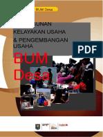 Buku Seri BUMDesa Kelayakan Usaha BUM Desa