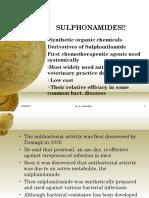 8 Sulphonamides