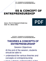 m1-Theories & Concept of Entrepreneurship