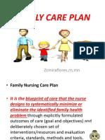 Family Care Plan