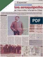 Un ilustre arequipeño en el olvido, Hermilio Vizcarra Díaz
