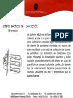 Baterias Electricas de Filamento