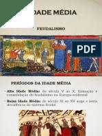 Idade Media Feudalismo