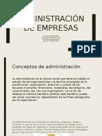 Expo Administracion
