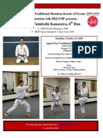 fumitoshi kanazawa flyer 2019  oct-1