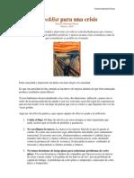 Checklist Para Una Crisis, Enfoque rial H Marchand