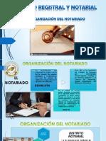 DE LA ORGANIZACION DELNOTARIADO 3.pptx