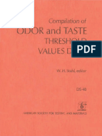DS48 - (1973) Compilation of Odor and Taste Threshold Values Data.pdf