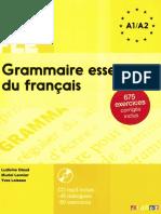 l Essentiel de La Grammaire FLE A1-A2