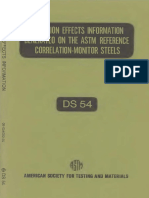 DS54 - (1974) Radiation Effects Information Generated on the ASTM Reference Correlation-Monitor Steels